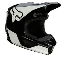 Casque FOX Youth V1 REVN - Black (2021)