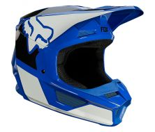 Casque FOX Youth V1 REVN - Blue (2021)