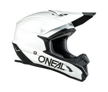 Casque O'Neal 1SRS Solid White (2022)