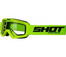 Protection Visage Enfant SHOT Rocket Neon Yellow