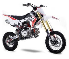 Pit Bike GUNSHOT 140 FX - Blanc - 2021