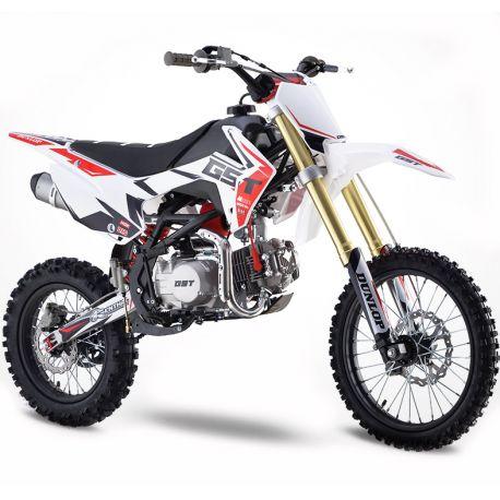 Pit Bike GUNSHOT 140 FX - 17/14 - Blanc - 2021