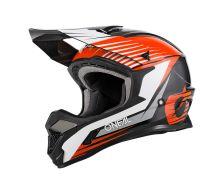 Casque O'Neal 1SRS Solid Black/Orange (2022)