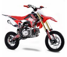 Pit Bike GUNSHOT 125 FX - Rouge- 2021
