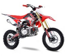 Pit Bike GUNSHOT 125 FX - 17/14 Rouge - 2021