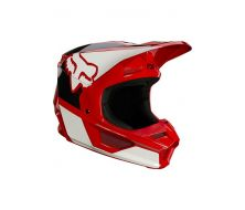 Casque FOX Youth V1 REVN - Red (2021)