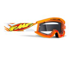 Protection visage FMF Powercore Flame Assault Grey