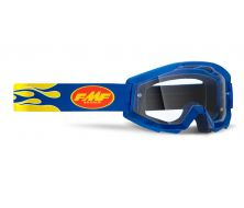 Protection visage FMF Powercore Flam e Navy