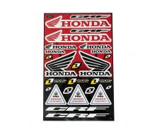 Planche de Stickers Honda