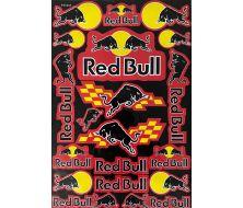 planche de Stickers  red bull