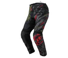 Pantalon O'NEAL Element RIDE Noir/Vert (2022)