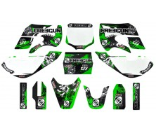 Kit Décoration KLX FREEGUN DEEP Vert 2015