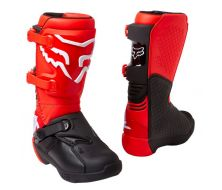 bottes fox comp youth t5 - flo red