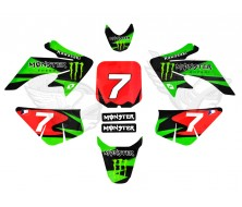Kit Deco CRF50 Monster Energy Edition Dirt Bike
