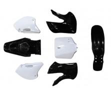 Kit Plastique KLX BBR Noir