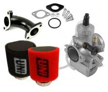 Complete Set of Carburator MOLKT 26mm + UNI Filter