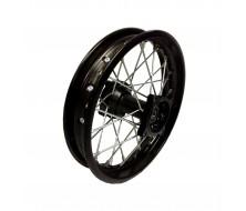 """Roue Arriere 10"""" Noir acier 15mm Dirt Bike"""