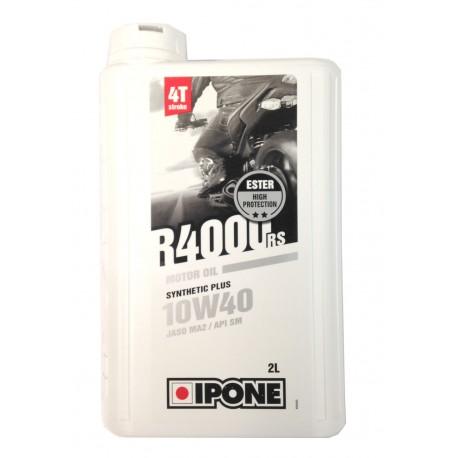 IPONE Motorcycle Oil 4T 10W40 R400rs 2L