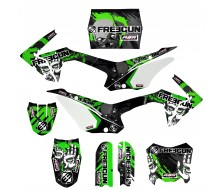 Graphic Kit CRF110 FREEGUN ZOMBIE