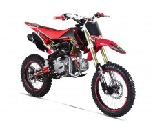 "Pit Bike Gunshot 140 FX - Rouge 14""/17"""