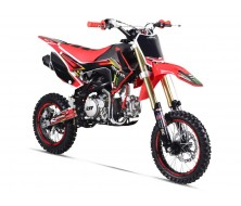 Pit Bike Gunshot 150-FX Rouge