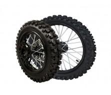 "Complete Wheel Package 12"" rear / 14"" front Guangli (Axle 15/12mm)"