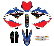 GRAPHIC KIT YCF STAR