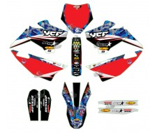 GRAPHIC KIT YCF CAMO STAR