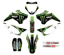 GRAPHIC KIT YCF CAMO MONSTER