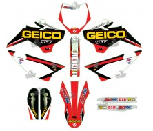 GRAPHIC KIT YCF GEICO