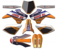 Graphic Kit YCF ORANGE LUCAS OIL