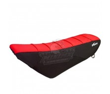Seat Cover KLX Black/Red