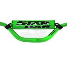 Guidon Fatbar StarBar 28,6mm Vert 2015