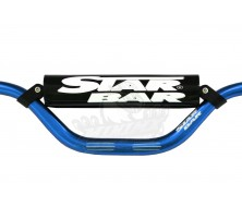 Guidon Fatbar StarBar 28,6mm Bleu