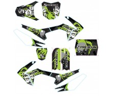 Graphic Kit CRF110-S FREEGUN Zombie Green
