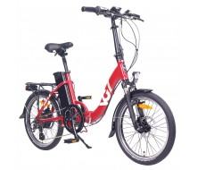 Folding E-Bike VG Lavil Red (11/15Ah)