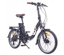Vélo électrique pliant VG Lavil Noir Matt (13/18Ah) 2020