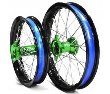 "CNC Rims FABA 12""/14"" Rear CNC Green"