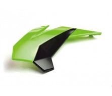 Left Front Plastics YCF bi-color Black/Green
